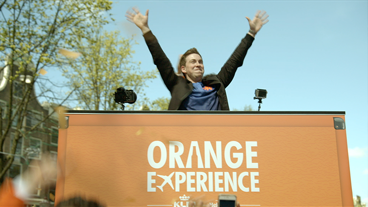 KLM and Heineken offer Orange Experience