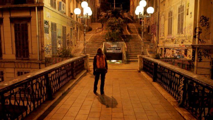 Night Walk in Marseille