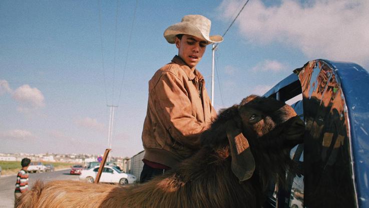 Madja fotografeerde filmcrew en Arabische cowboys
